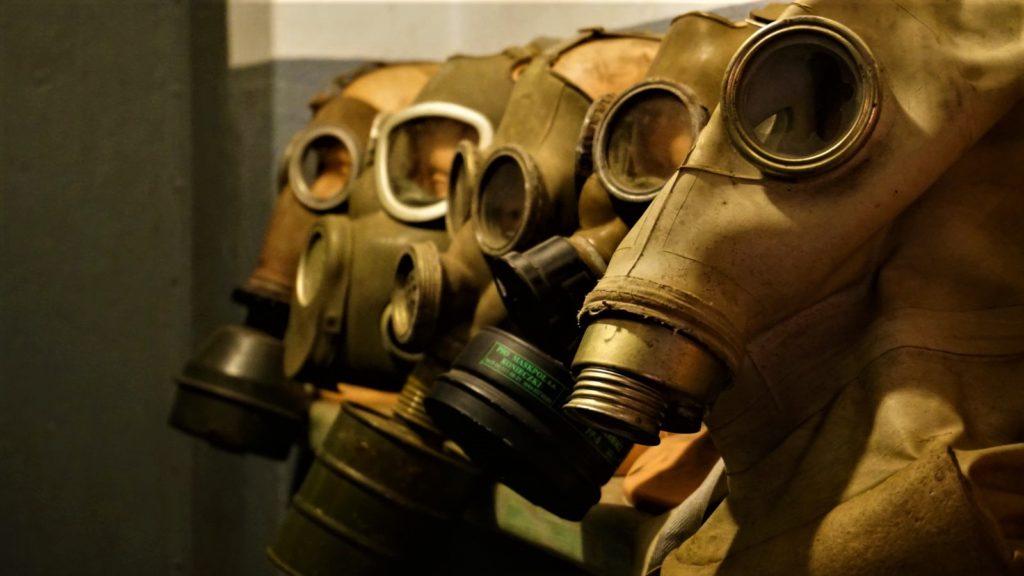 maski przeciwgazowe wschronie