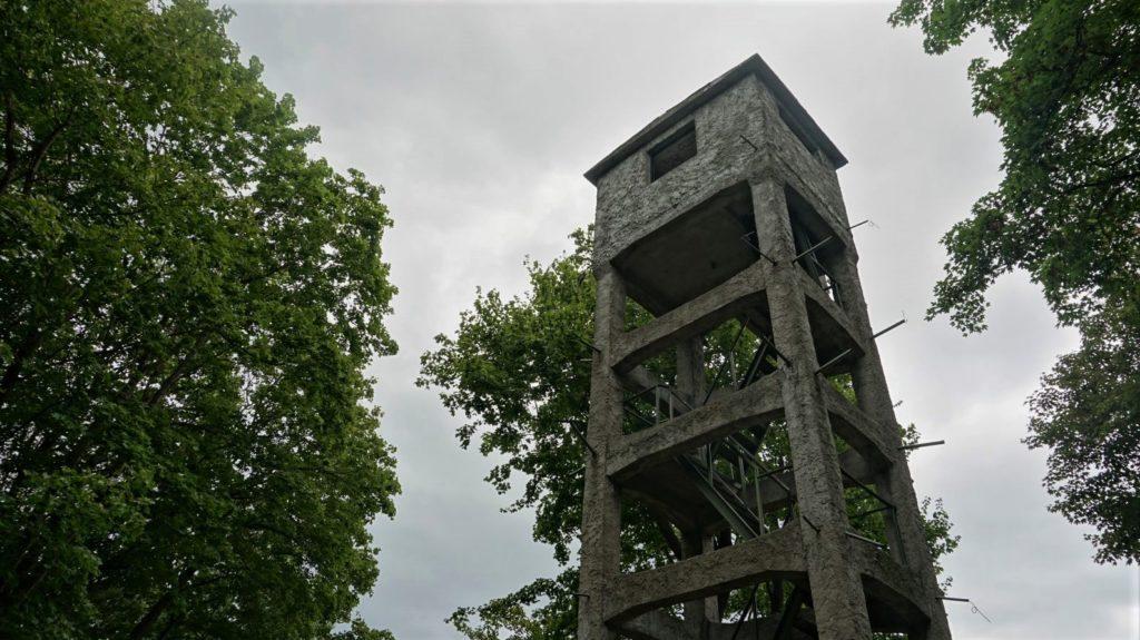 wieza obserwacyjna 25 baterii artylerii stalej