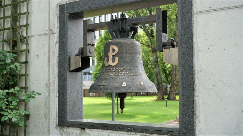 dzwon monter wparku wolnosci wmuzeum powstania warszawskiego