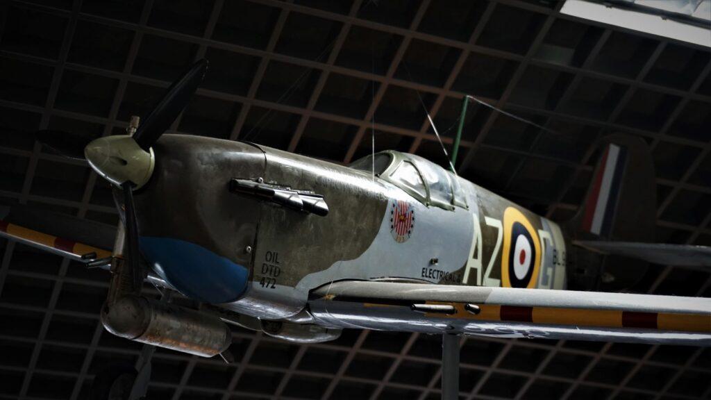 Makieta samolotu Dywizjonu 303