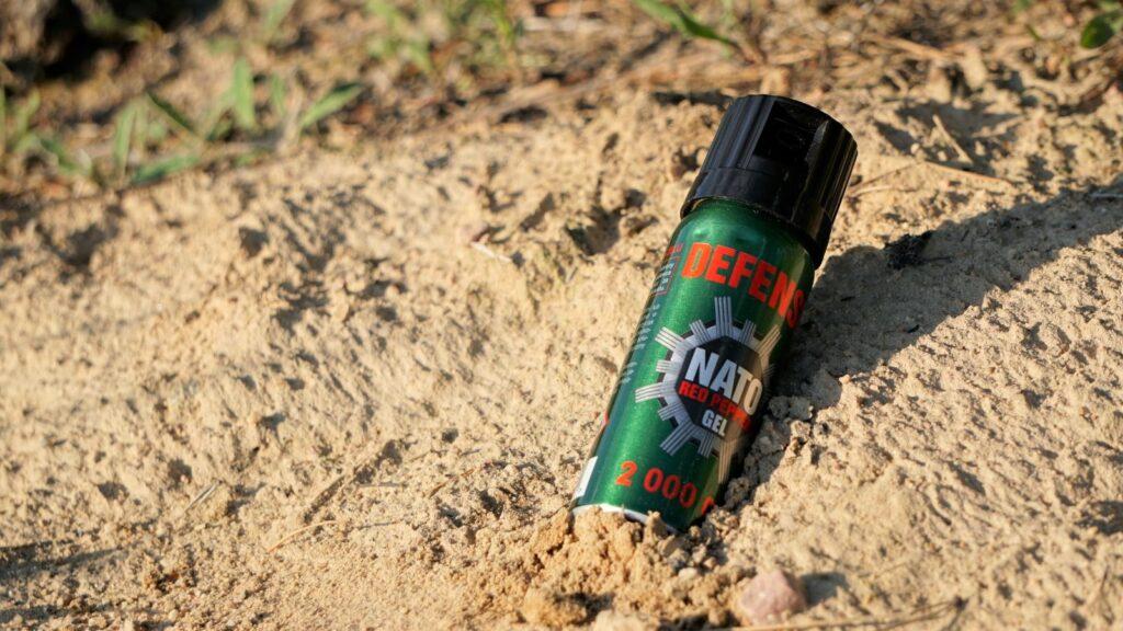 Gaz pieprzowy Nato Defense, któryzabieram naurbex