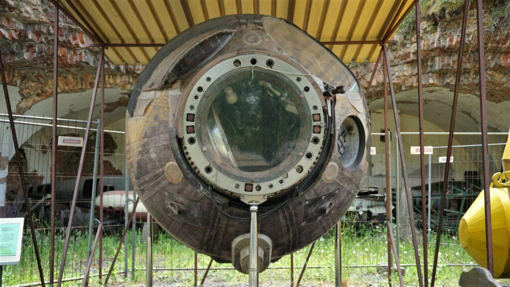 Lądownik statku kosmicznego SOJUZ 30, wktórejorbitralną podróż odbył mjr. pil. kosmonauta Mirosław Hermaszewski