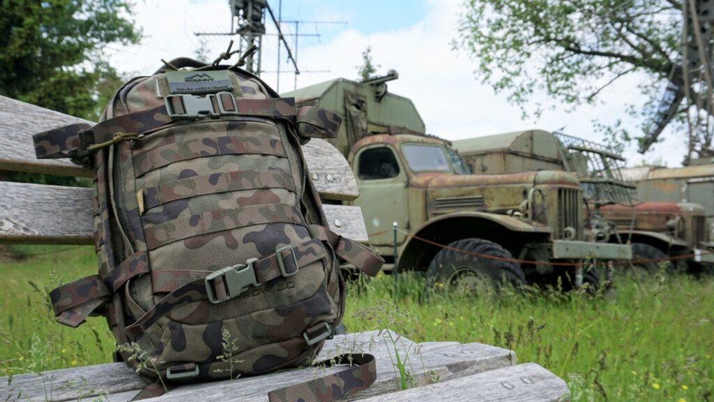 Plecak Wisport Sparrow II wMuzeum Polskiej Techniki Wojskowej