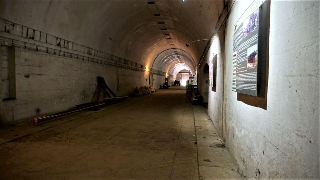 Schron kolejowy wStępinie-Cieszynie