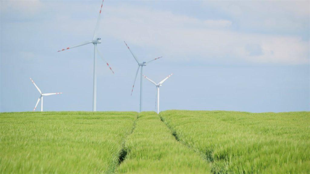 Farma wiatraków wPakosławiu