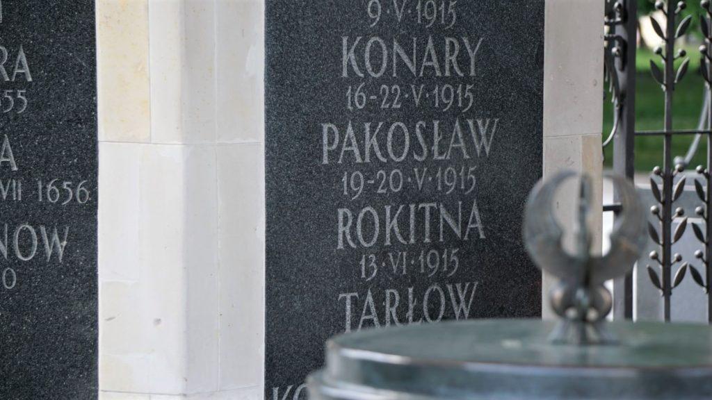 Bitwę podPakosławiem upamiętniono naGrobie Nieznanego Żołnierza wWarszawie