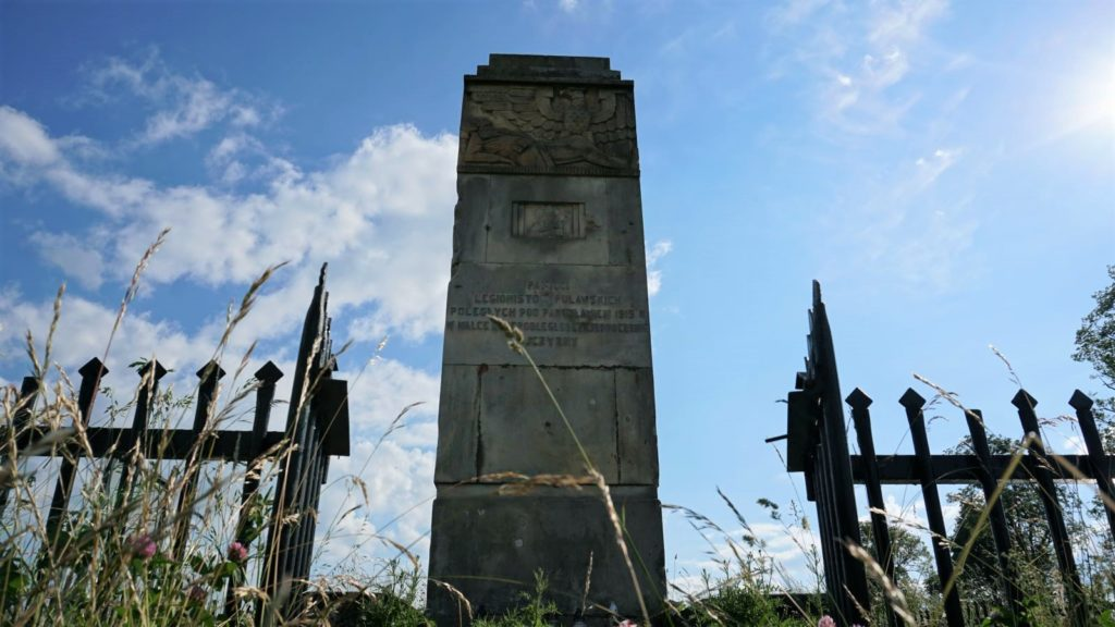 Pomnik Legionistów Puławskich wPakosławiu