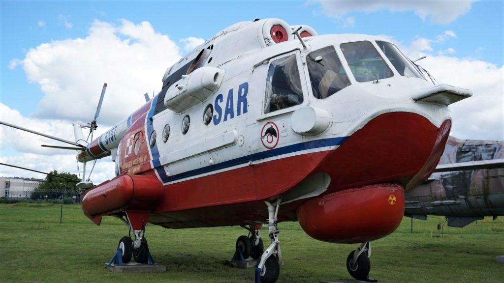 Mi-14 - śmigłowiec ratownictwa morskiego