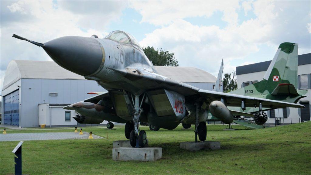 MiG-29 - jedna zmoichulubionych maszyn