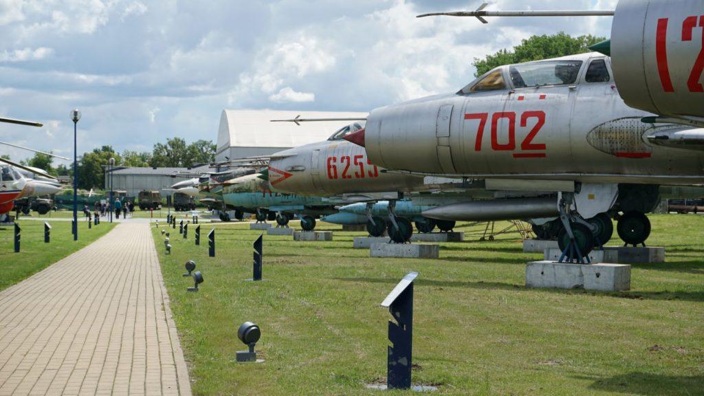 Jedna zalejek Muzeum Sił Powietrznych wDęblinie