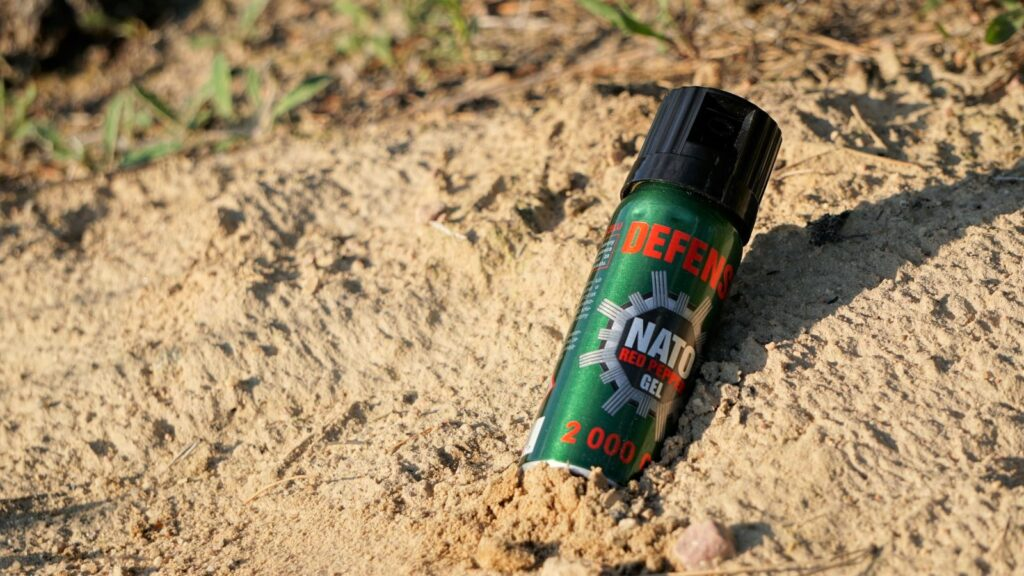 gaz pieprzowy nato defense prezent dla podróżnika