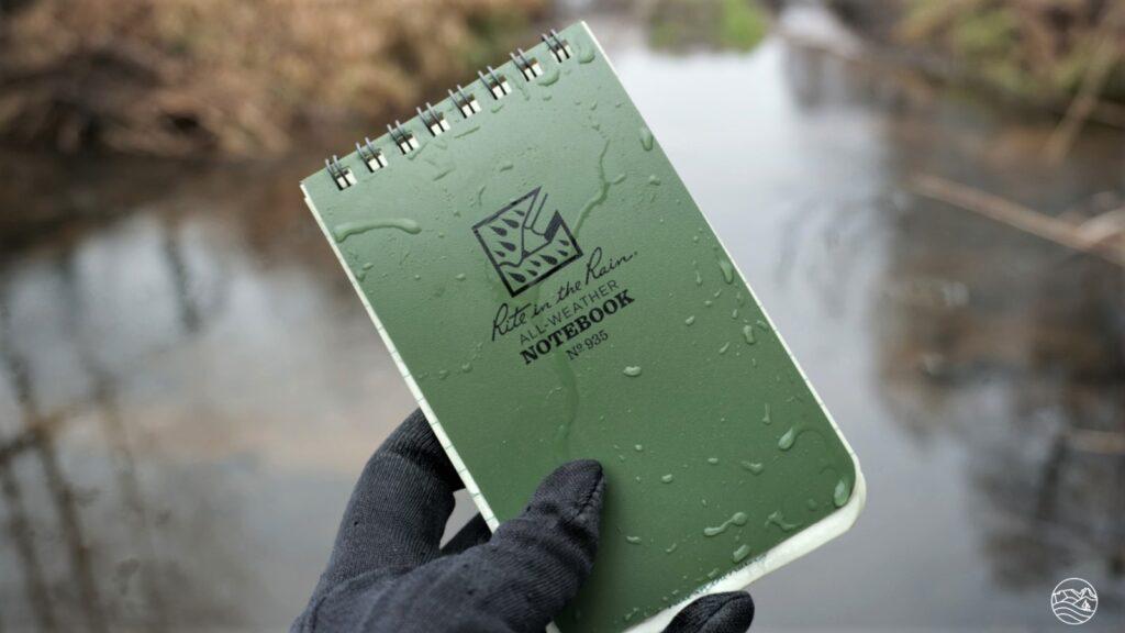 wodoodporny notes rite in the rain