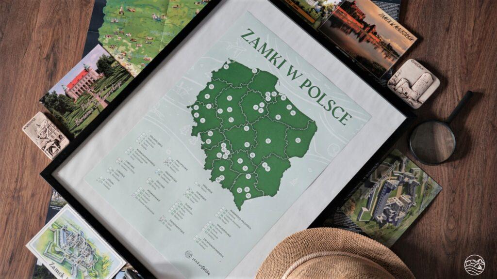Plakat Zamki wPolsce