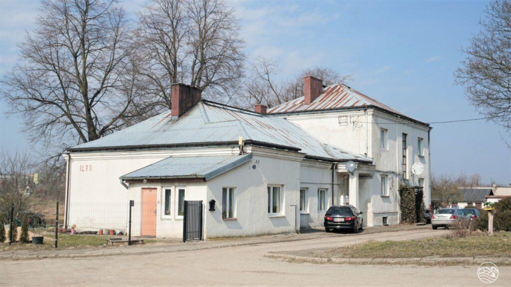 Budynek stacji kolejowej wIłży