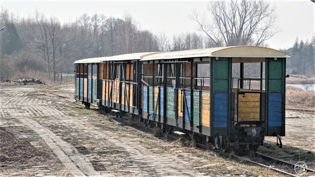 Wagoniki Starachowickiej Kolei Wąskotorowej